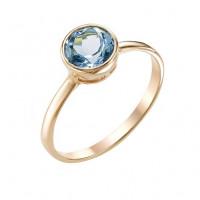 Золотое кольцо с топазами МБ01-1-677-1100-010