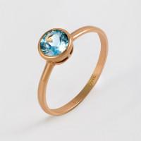 Золотое кольцо с топазами МБ01-1-677-1300-010