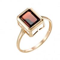 Золотое кольцо с гранатами МБ01-1-693-0300-010