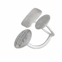Серебряное кольцо ИЬ90437