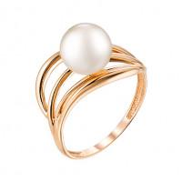 Золотое кольцо с жемчугом НЮ09389101010000072