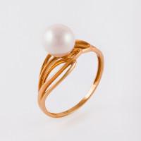 Золотое кольцо с жемчугом НЮ09389601010000072