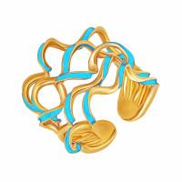 Золотое кольцо с эмалью РВЦХXР0015T-00