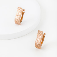 Золотые серьги ГГСРГ0403 женские