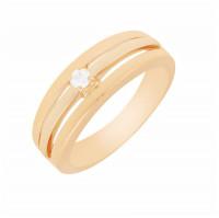 Золотое кольцо с бриллиантом МЭК73771