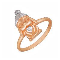 Серебряное кольцо с фианитами ЮХДК01