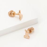 Золотые серьги гвоздики 3ВС102-1303