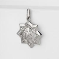 Серебряная мечеть с фианитами АБ3205744