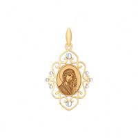 Золотая иконка ДИ101702