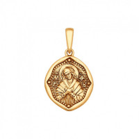 Золотая иконка ДИ035421