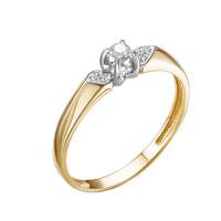 Золотое кольцо с бриллиантами ЮИК112-5700