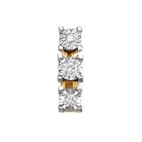 Золотая подвеска с бриллиантами ЮИП113-5690