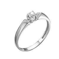 Кольцо из белого золота с бриллиантами ЮИК210-5700
