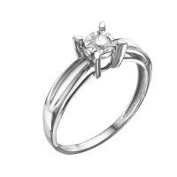 Золотое кольцо с бриллиантом ЮИК213-5692