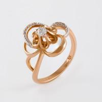 Золотое кольцо с бриллиантами ХС050099621