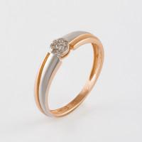 Золотое кольцо с бриллиантами ХС050112921