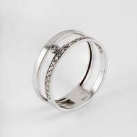 Золотое кольцо с бриллиантами ДИ1011850