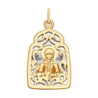 Золотая иконка ДИ104135