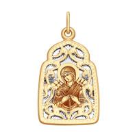 Золотая иконка ДИ104134