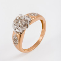 Золотое кольцо с бриллиантами ЛХ01-01592-02-106-01-01