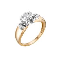 Золотое кольцо с бриллиантами ЛХ01-01594-02-106-01-01