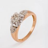 Золотое кольцо с бриллиантами ЛХ01-01595-02-106-01-01