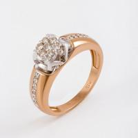 Золотое кольцо с бриллиантами ЛХ01-01598-02-106-01-01