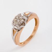 Золотое кольцо с бриллиантами ЛХ01-01452-02-001-01-01