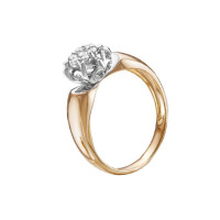 Золотое кольцо с бриллиантами ЛХ01-01455-02-001-01-01