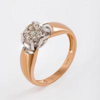 Золотое кольцо с бриллиантами ЛХ01-01458-02-001-01-01