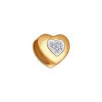 Золотая подвеска с бриллиантами ДИ1030504
