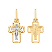 Золотой крест ДИ121422