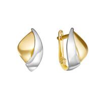 Золотые серьги ДП221282Л