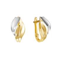 Золотые серьги ДП221279Л