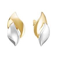 Золотые серьги ДП221176Л