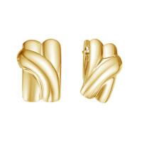 Золотые серьги ДП221065Л