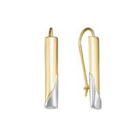 Золотые серьги ДП221603Л