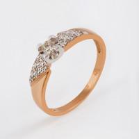 Золотое кольцо с бриллиантами ЛХ01-01093-01-106-01-01