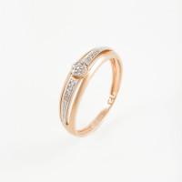Золотое кольцо с бриллиантами ХС050058021