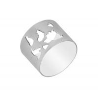 Серебряное кольцо ПЮ281637