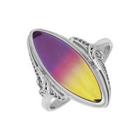 Серебряное кольцо с кварцем ПЮ261583ат
