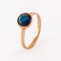 Серебряное кольцо с алпанитами ПЮ262713сп