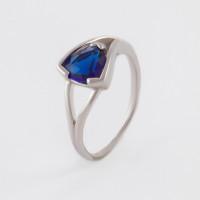 Серебряное кольцо с алпанитами и фианитами ПЮ261787сп