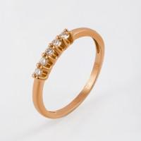 Золотое кольцо с бриллиантами ЛХ01-01332-01-001-01-00