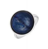 Серебряное кольцо с кианитами ВПК12КЛ