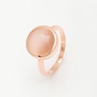 Золотое кольцо со вставкой «кошачий глаз»