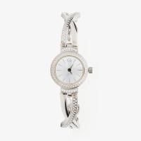 Серебряные часы с фианитами КИ6076.06.02.9.25B