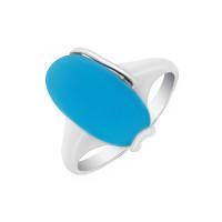 Серебряное кольцо с халцедонами 9В13200321
