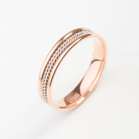 Золотое кольцо обручальное ТЗТ130619048