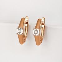 Золотые серьги с бриллиантами ЫЗ5-2447-103И1-2К